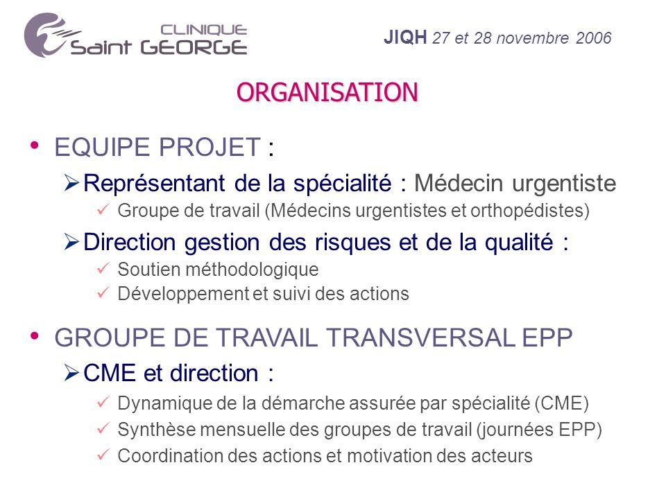 GROUPE DE TRAVAIL TRANSVERSAL EPP