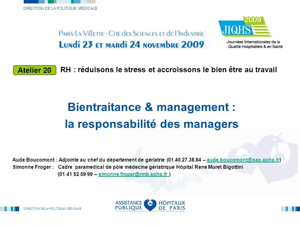Bientraitance & management : la responsabilité des managers