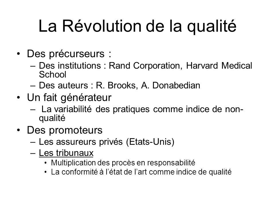 La Révolution de la qualité