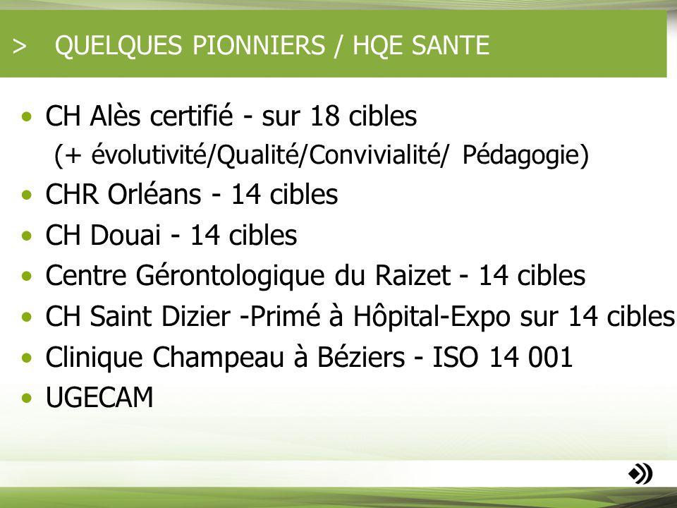 QUELQUES PIONNIERS / HQE SANTE