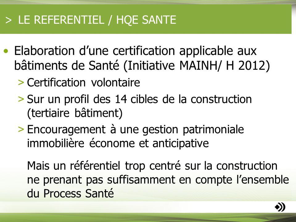 LE REFERENTIEL / HQE SANTE