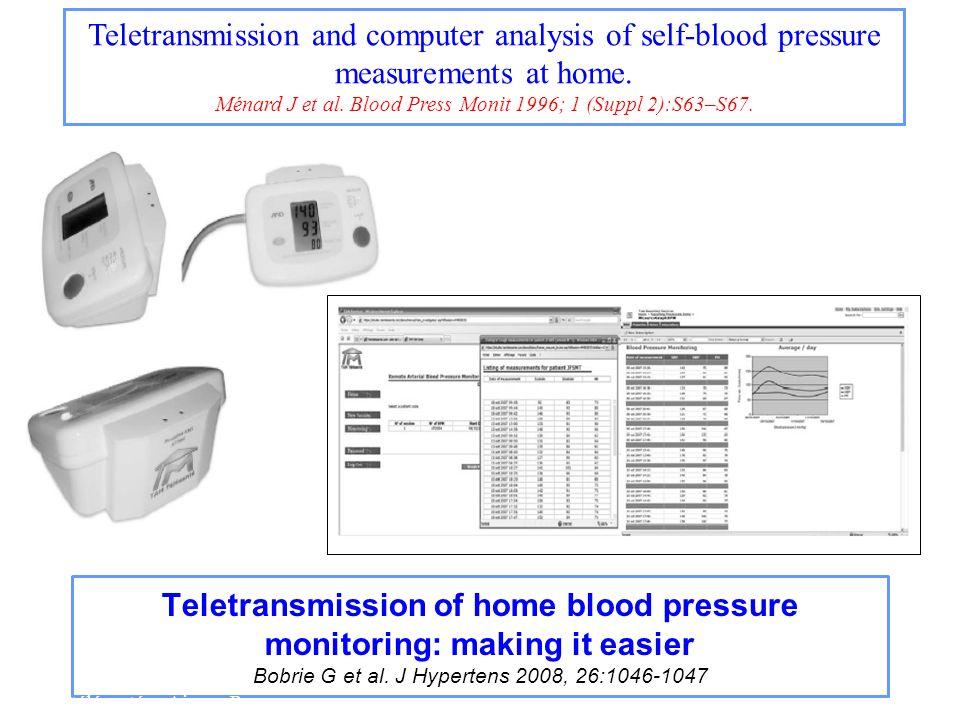 Ménard J et al. Blood Press Monit 1996; 1 (Suppl 2):S63–S67.