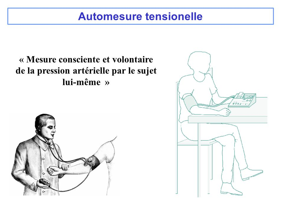 Automesure tensionelle