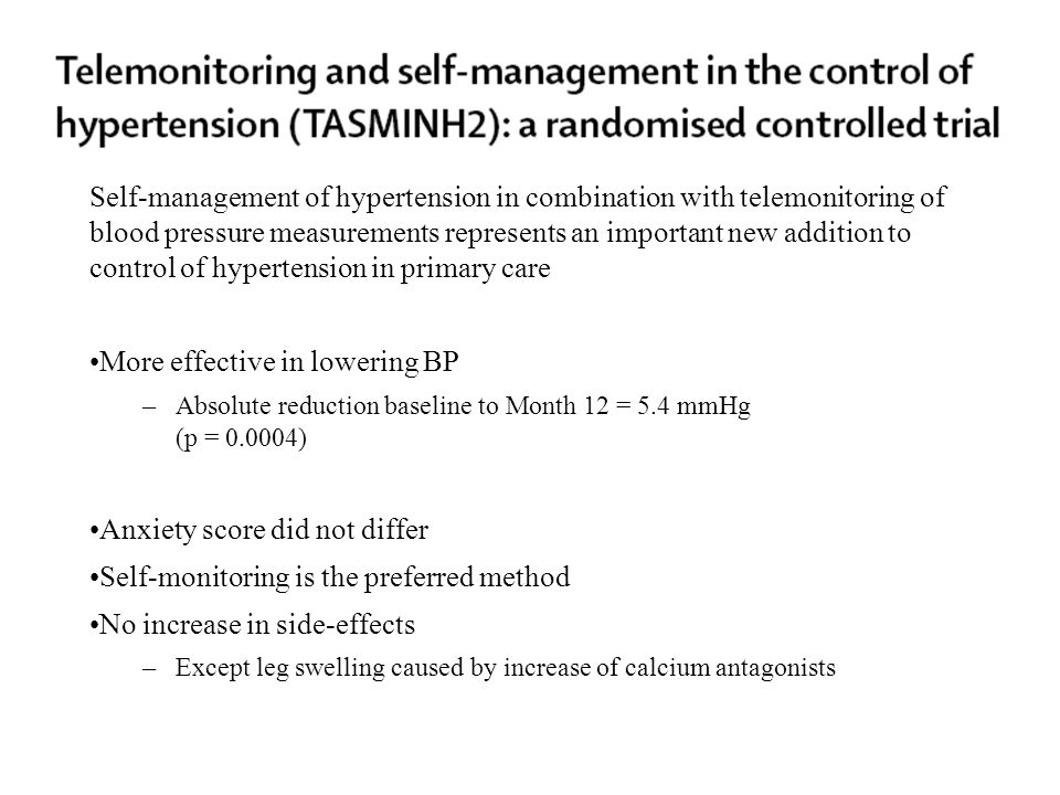 More effective in lowering BP