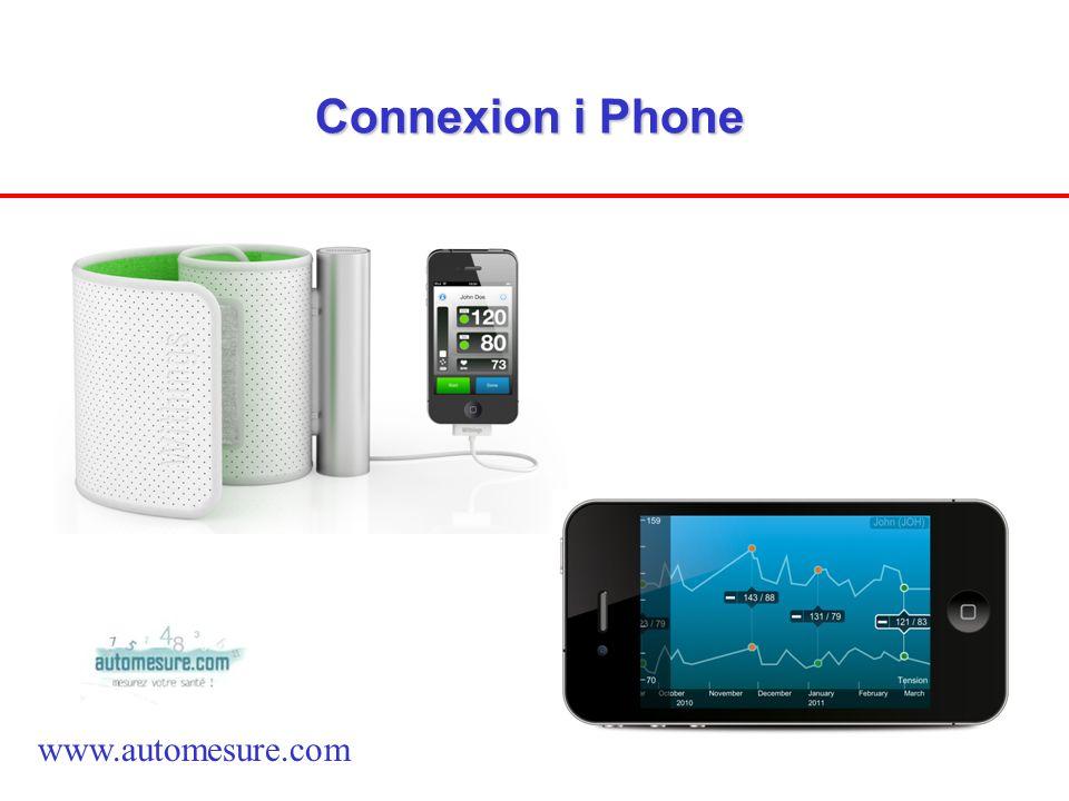 Connexion i Phone www.automesure.com