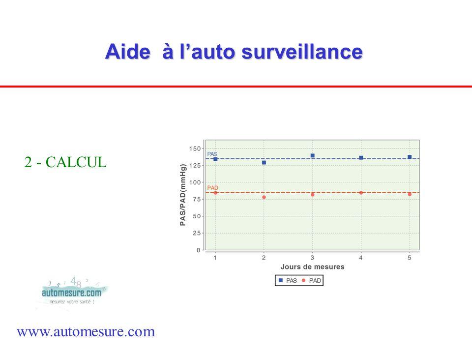 Aide à l'auto surveillance