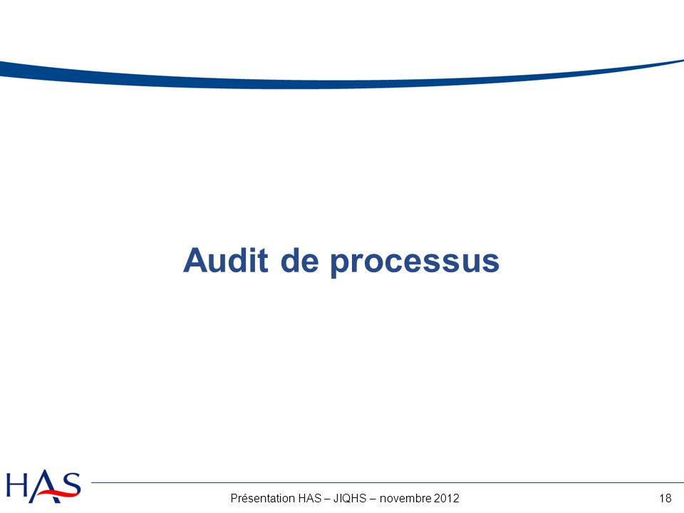 Présentation HAS – JIQHS – novembre 2012