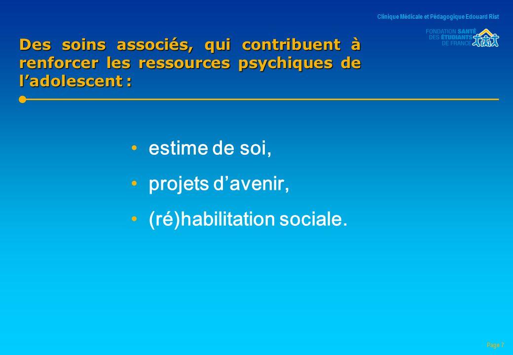 (ré)habilitation sociale.