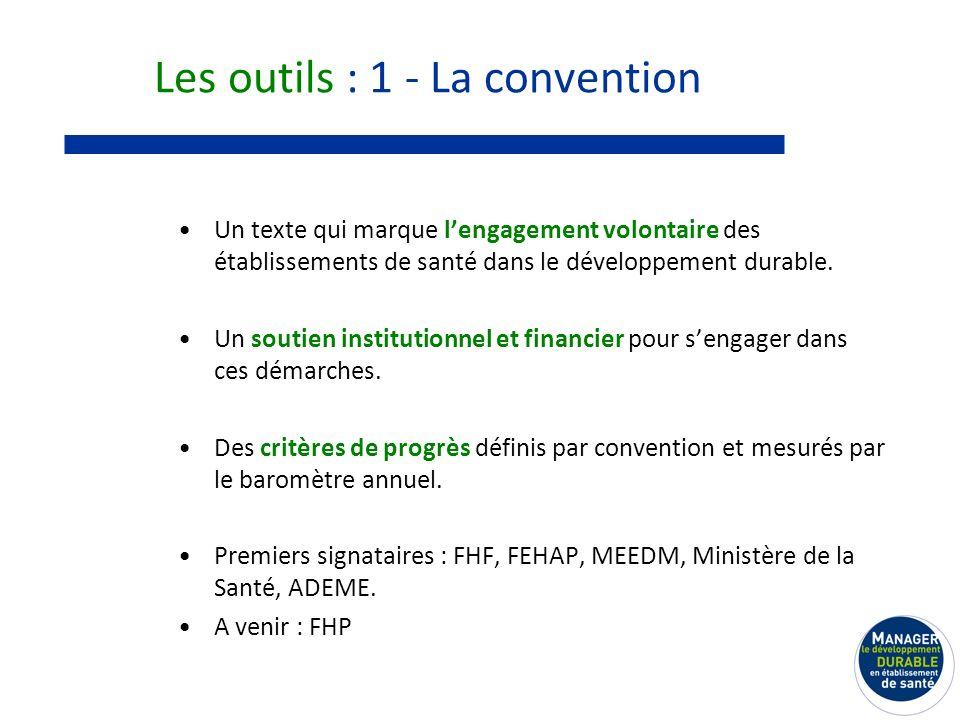 Les outils : 1 - La convention