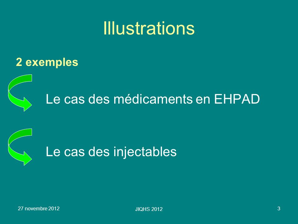 Illustrations Le cas des médicaments en EHPAD Le cas des injectables