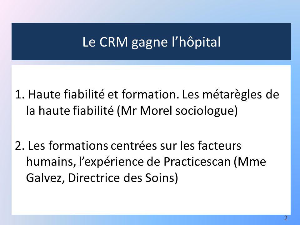 Le CRM gagne l'hôpital
