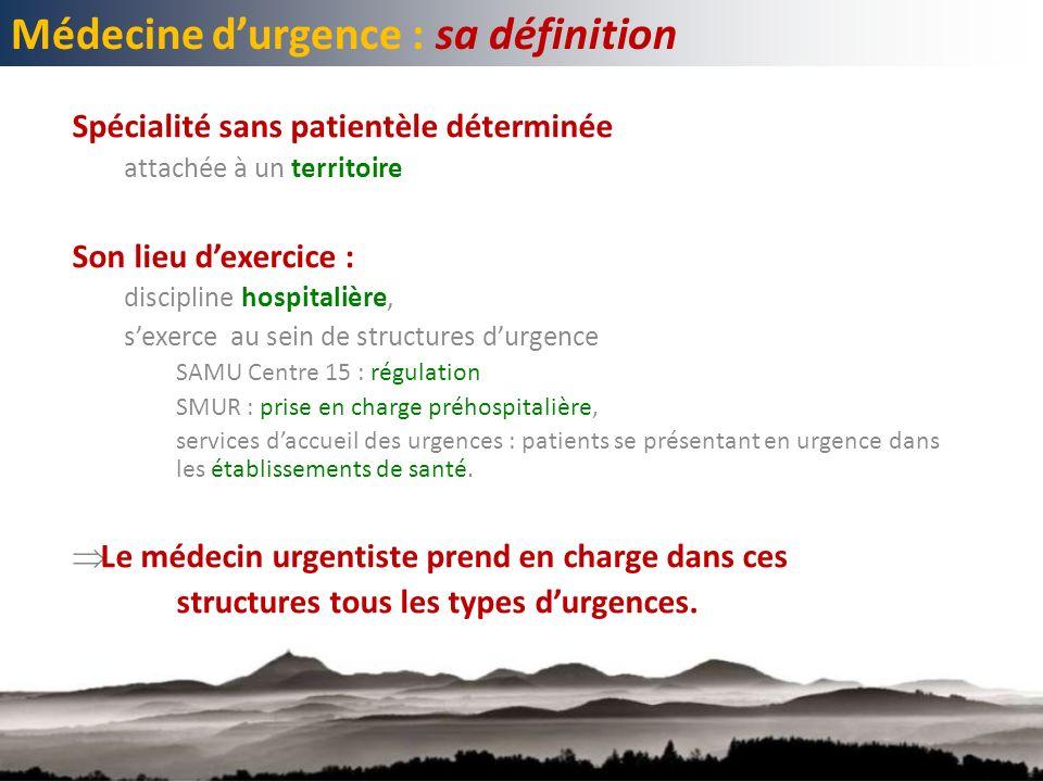 Médecine d'urgence : sa définition