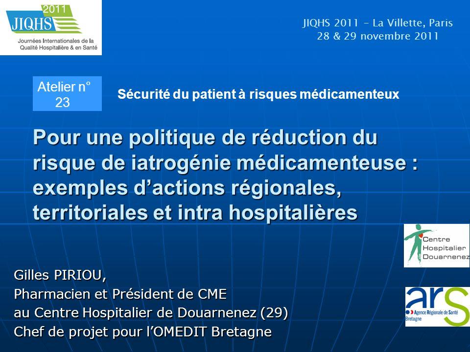JIQHS 2011 – La Villette, Paris 28 & 29 novembre 2011