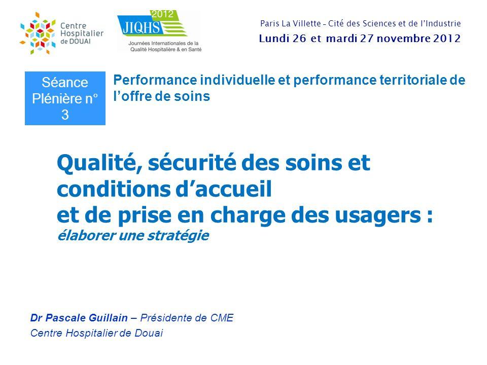 Dr Pascale Guillain – Présidente de CME Centre Hospitalier de Douai