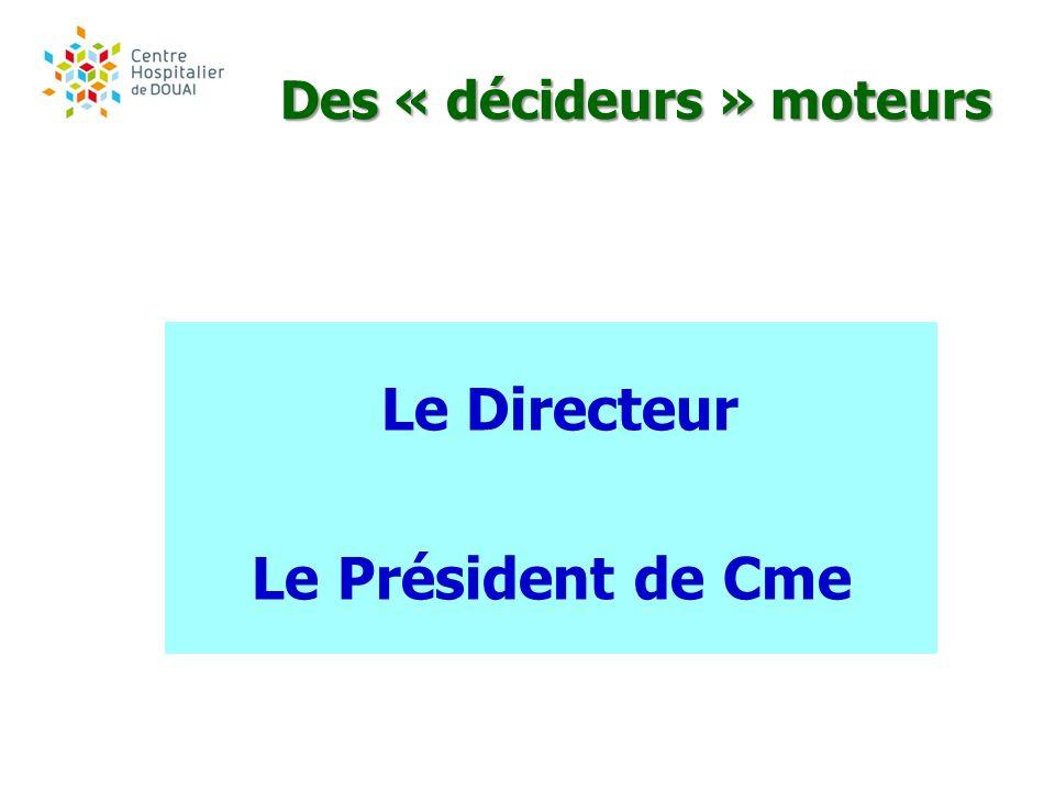 Des « décideurs » moteurs