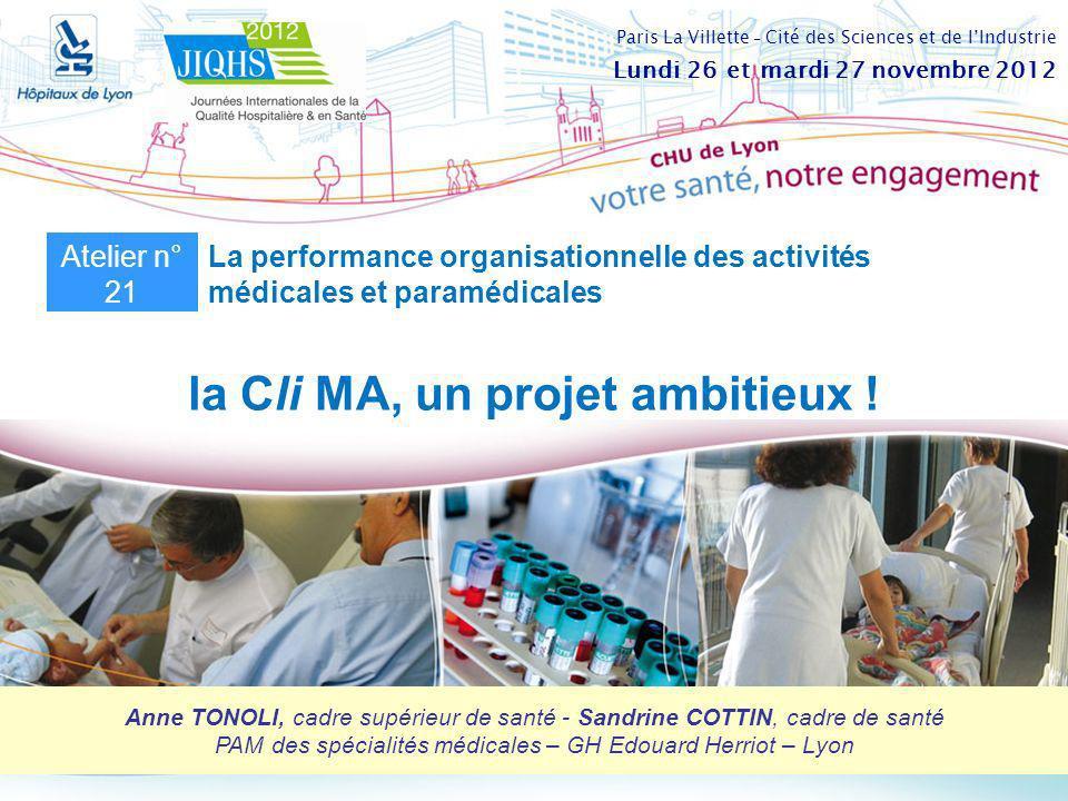 la Cli MA, un projet ambitieux !