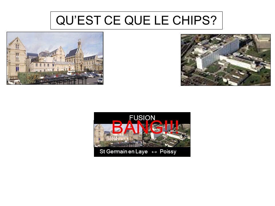 QU'EST CE QUE LE CHIPS St Germain en Laye ↔ Poissy FUSION BANG!!!