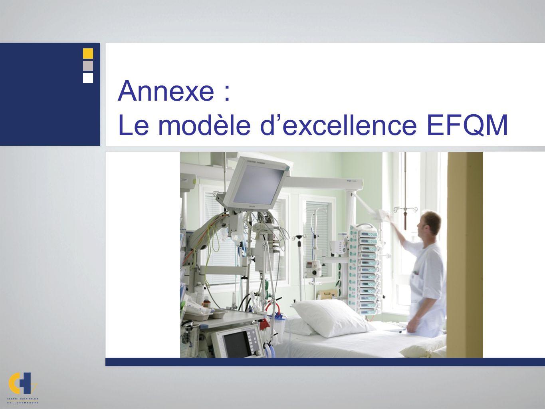 Annexe : Le modèle d'excellence EFQM