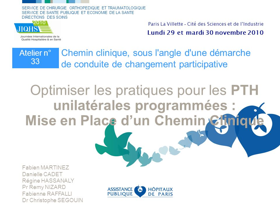 Mise en Place d'un Chemin Clinique