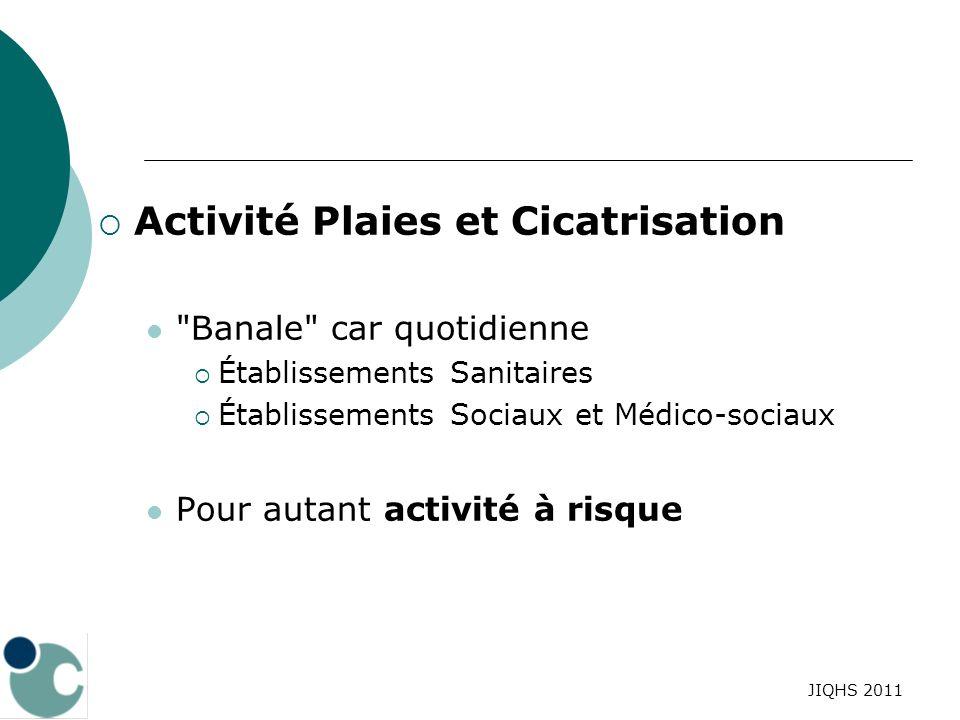 Activité Plaies et Cicatrisation
