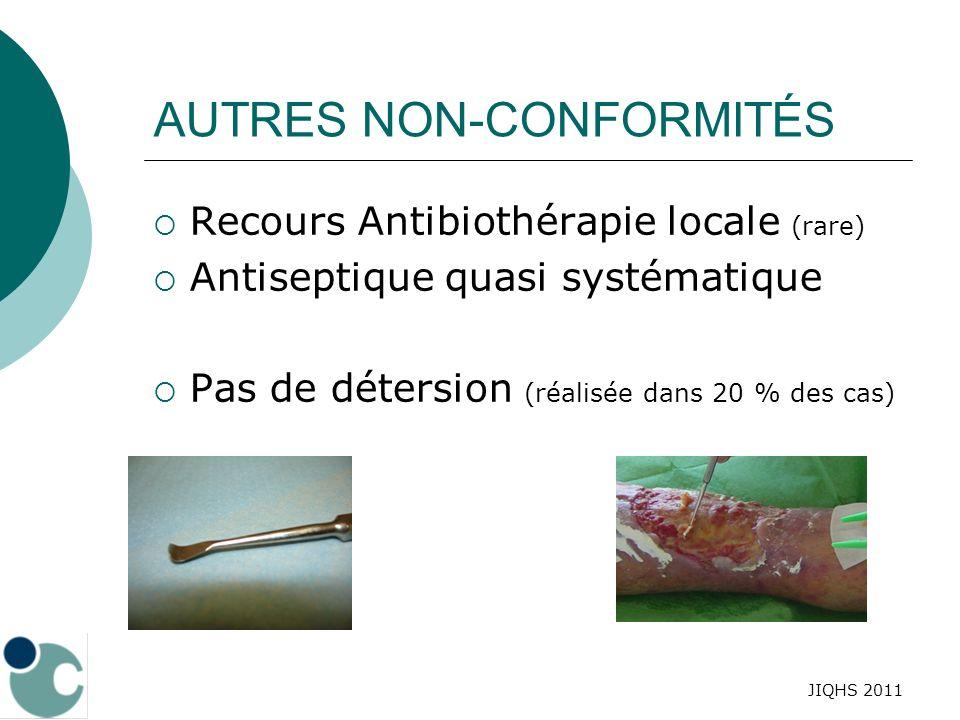 AUTRES NON-CONFORMITÉS