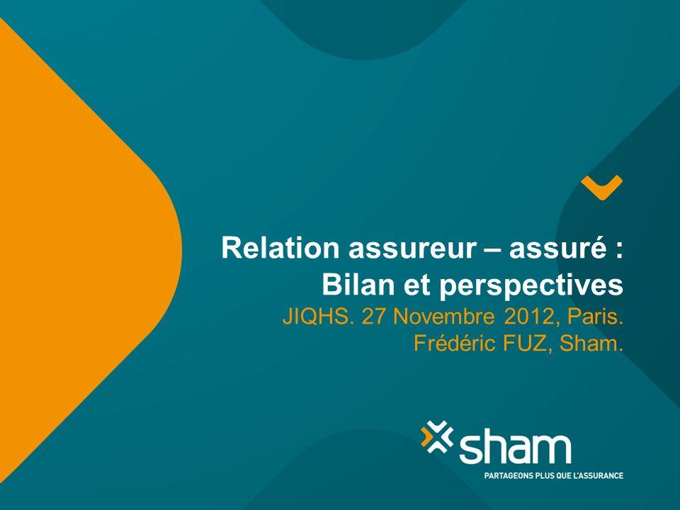 Relation assureur – assuré : Bilan et perspectives