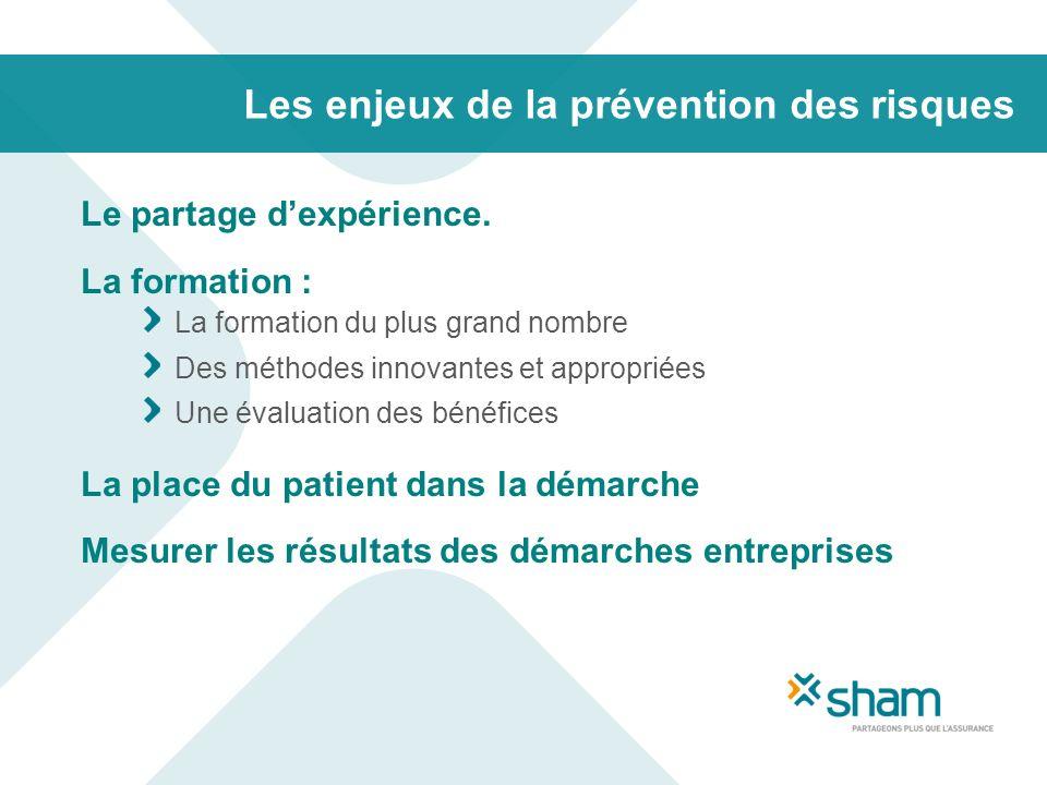 Les enjeux de la prévention des risques
