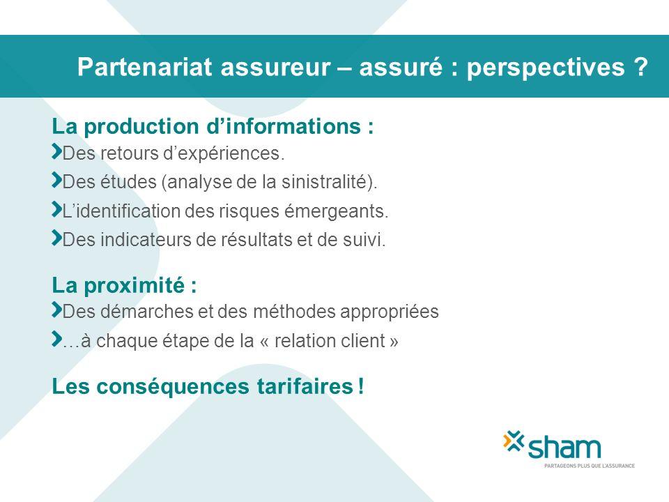Partenariat assureur – assuré : perspectives