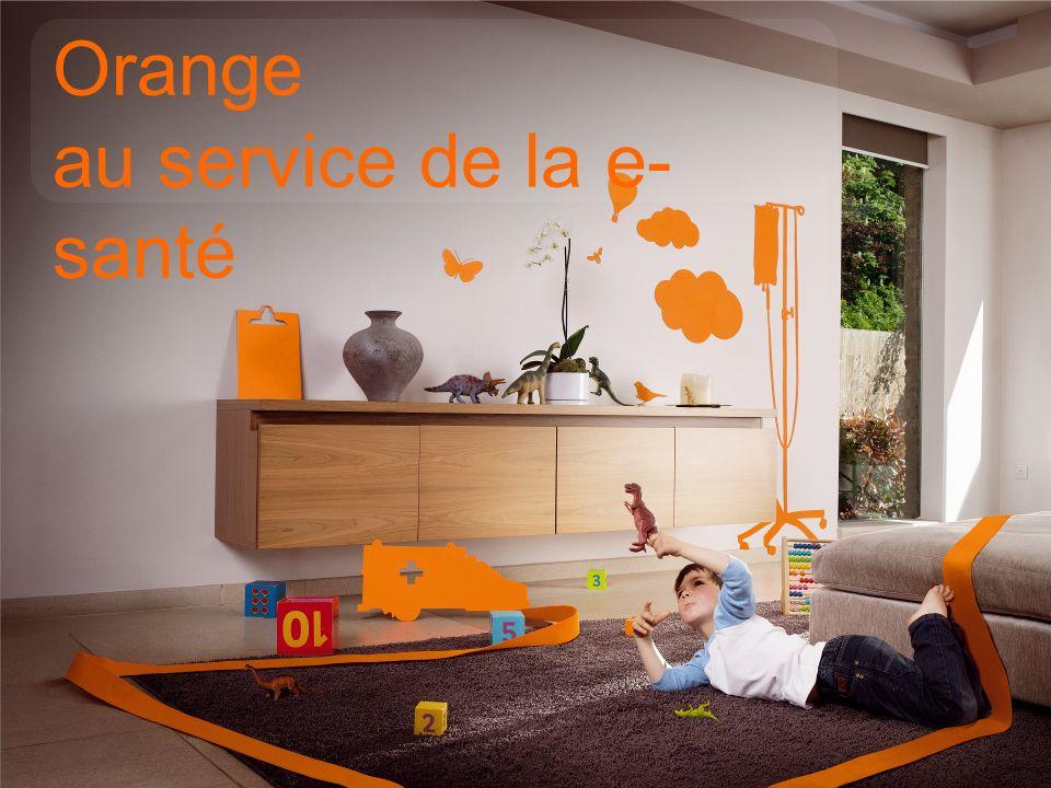 Orange au service de la e-santé