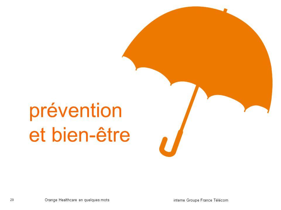prévention et bien-être