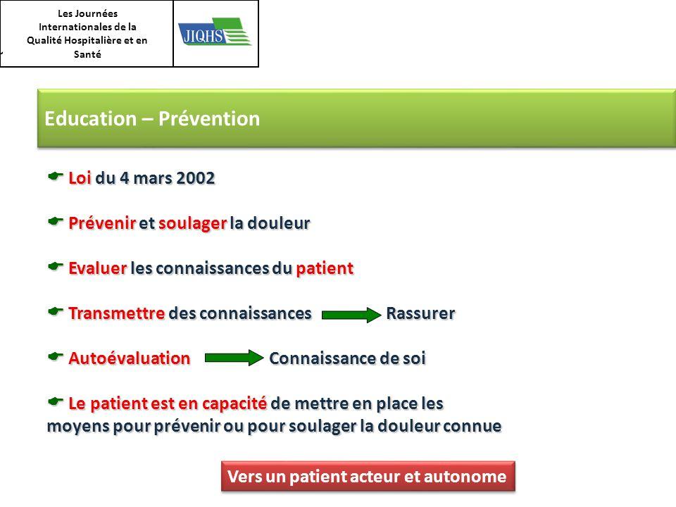 Les Journées Internationales de la Qualité Hospitalière et en Santé