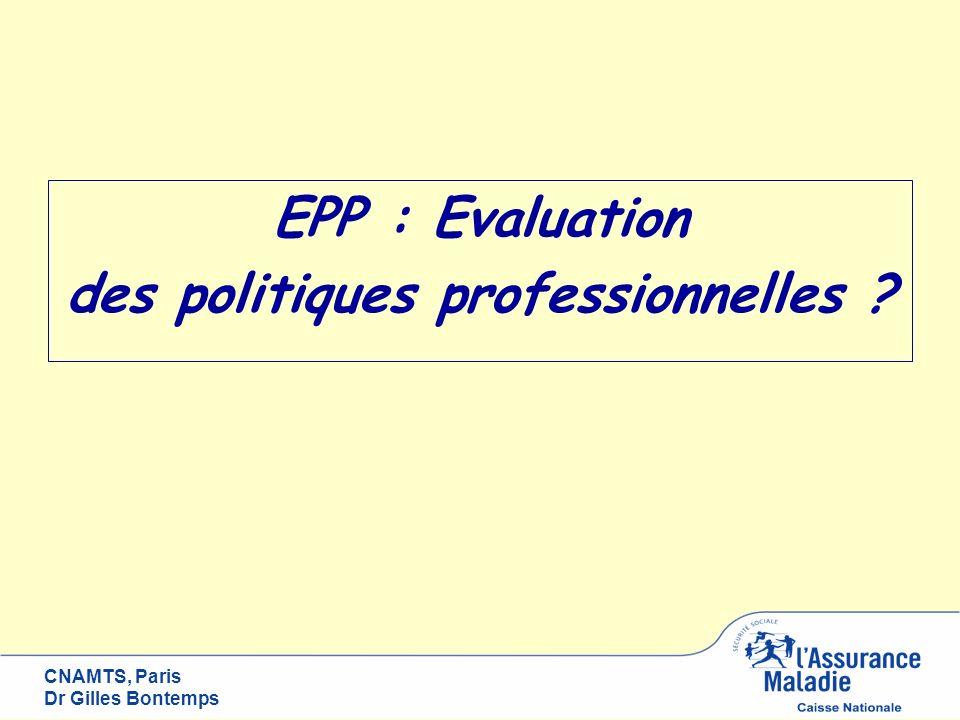des politiques professionnelles