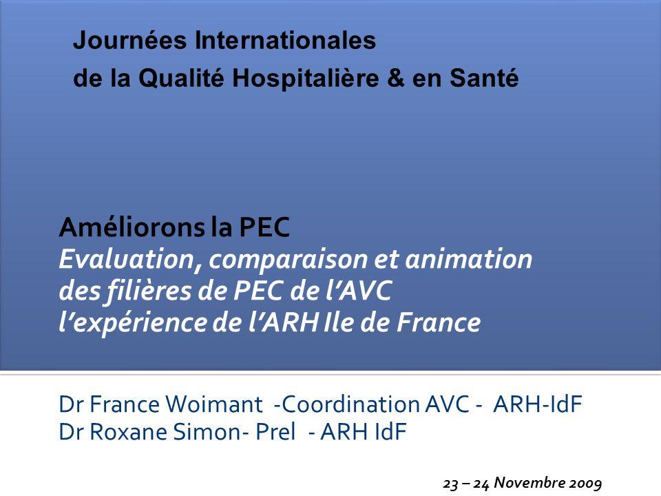 Evaluation, comparaison et animation des filières de PEC de l'AVC