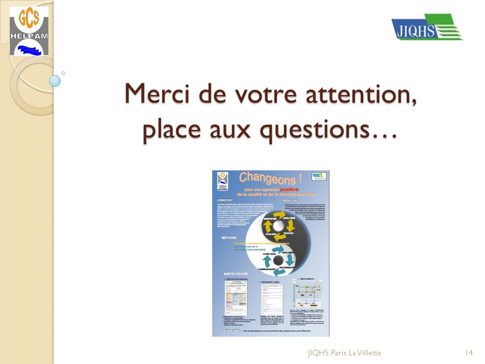 Merci de votre attention, place aux questions…