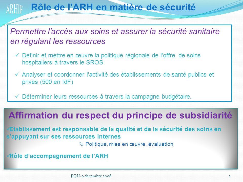 Affirmation du respect du principe de subsidiarité