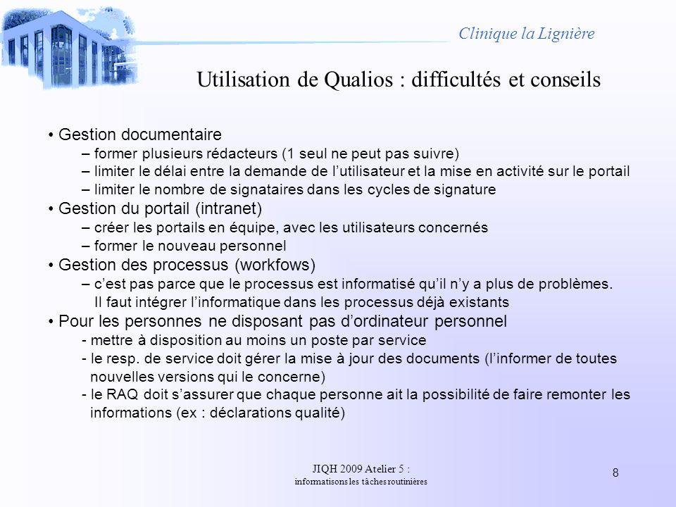 Utilisation de Qualios : difficultés et conseils
