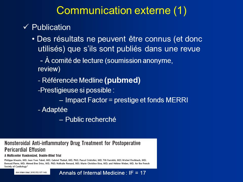 Communication externe (1)