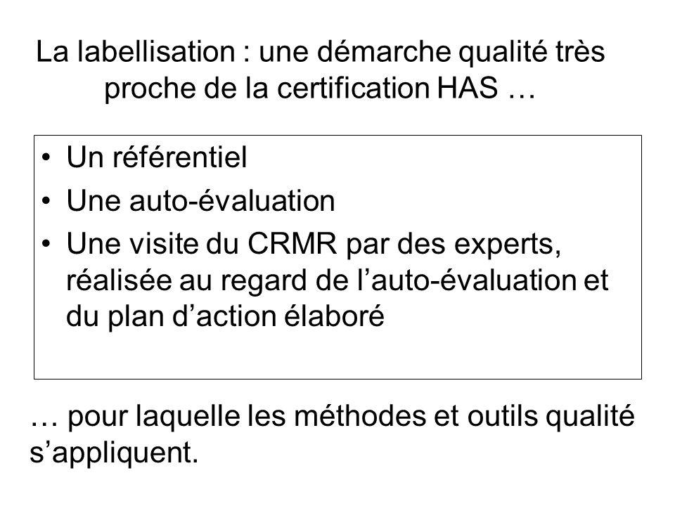 La labellisation : une démarche qualité très proche de la certification HAS …