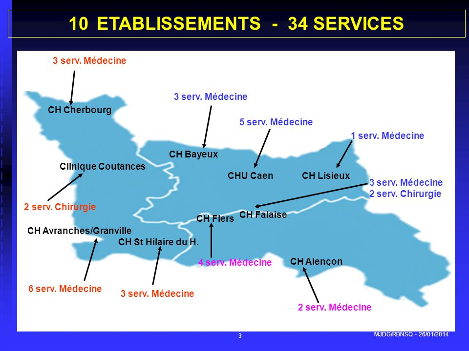 ETABLISSEMENTS - 34 SERVICES