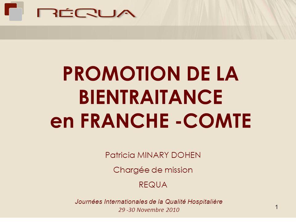 PROMOTION DE LA BIENTRAITANCE en FRANCHE -COMTE