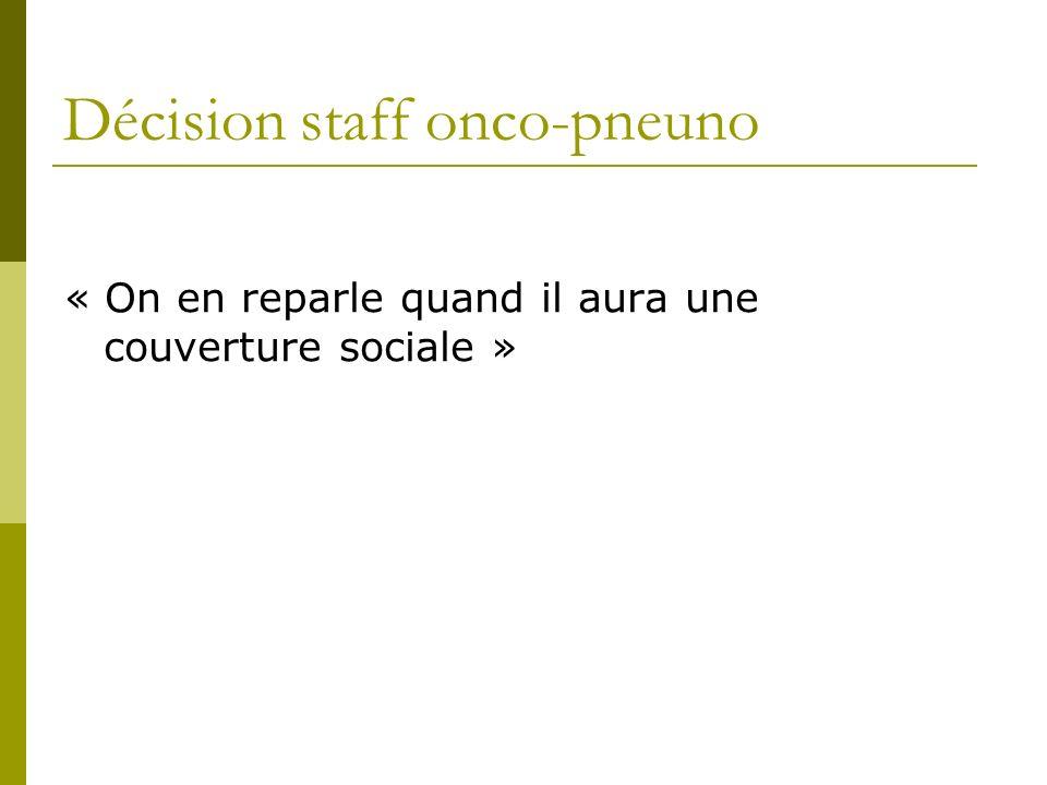 Décision staff onco-pneuno