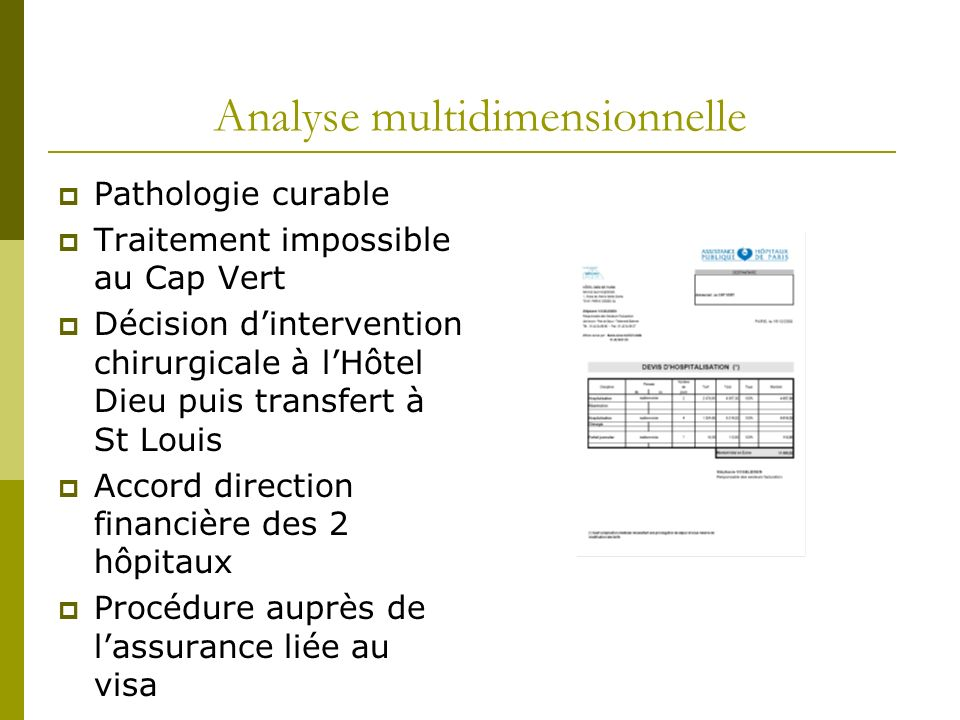 Analyse multidimensionnelle