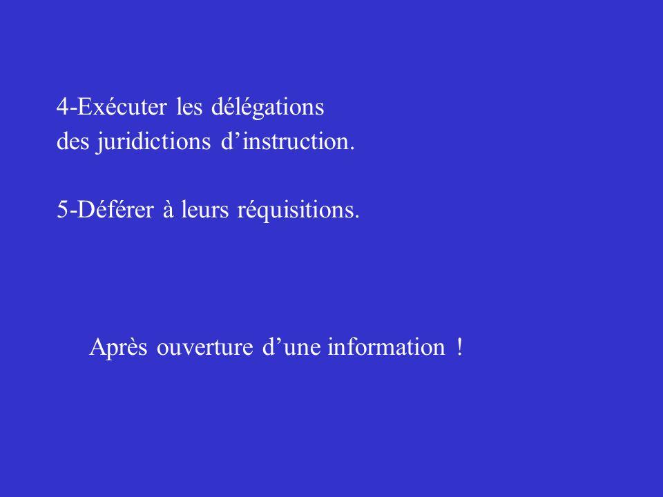4-Exécuter les délégations