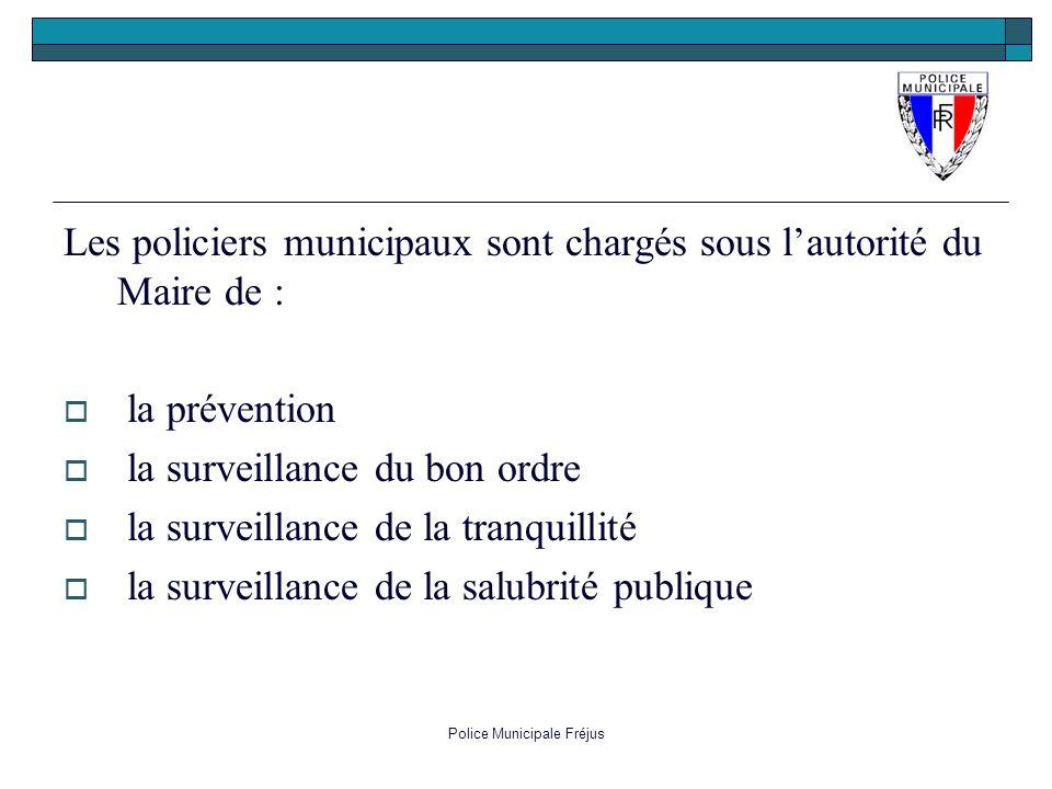 Police Municipale Fréjus
