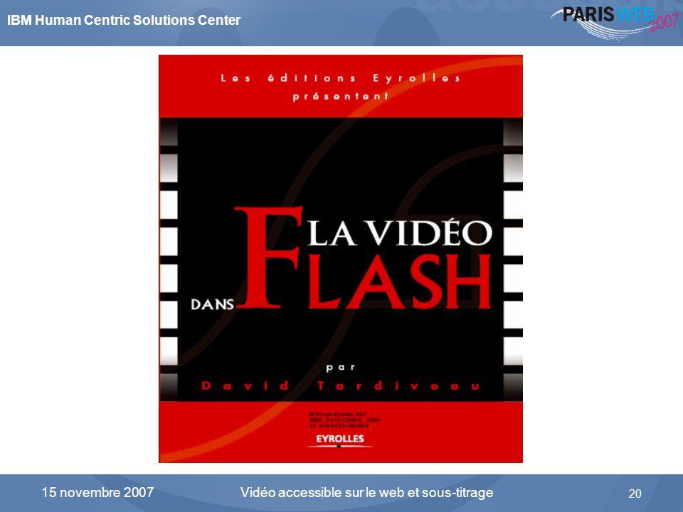 La vidéo dans Flash… ça s'apprend !
