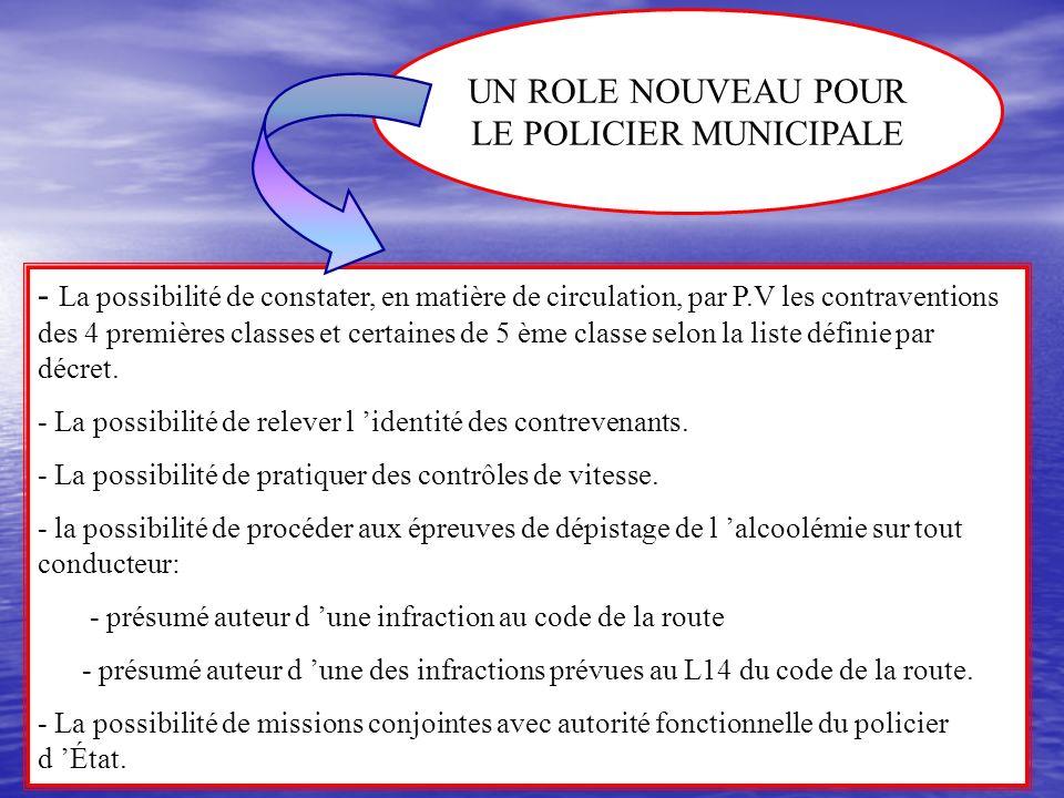 LE POLICIER MUNICIPALE