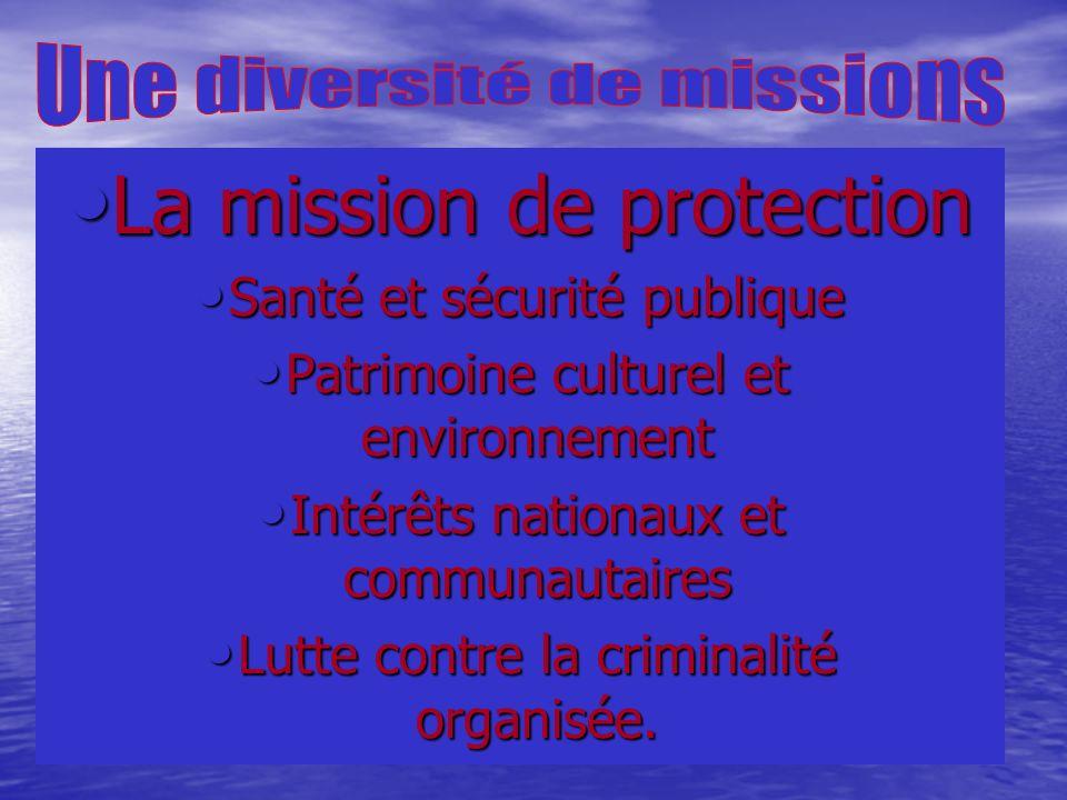 La mission de protection