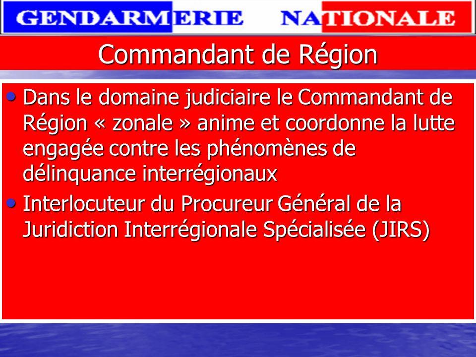 Commandant de Région