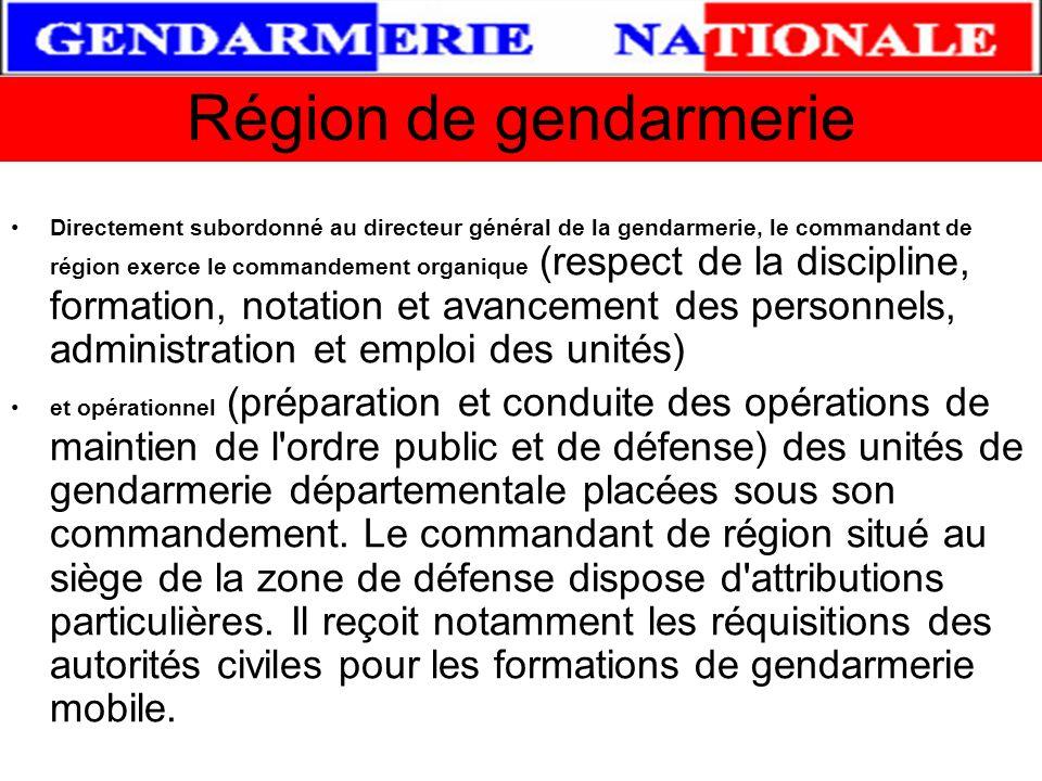 Région de gendarmerie
