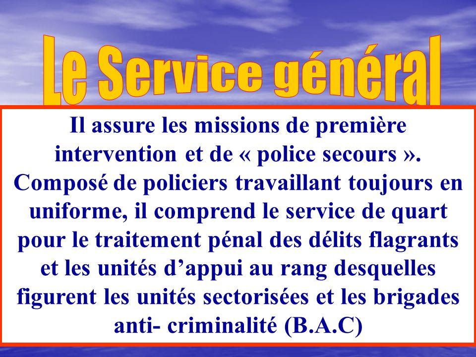 Le Service général